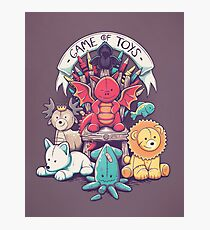 Game Of Toys Photographic Print