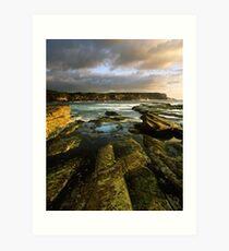 """Cliff to Cliff"" ∞ Little Bay, NSW - Australia Art Print"