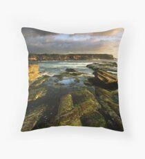 """""""Cliff to Cliff"""" ∞ Little Bay, NSW - Australia Throw Pillow"""