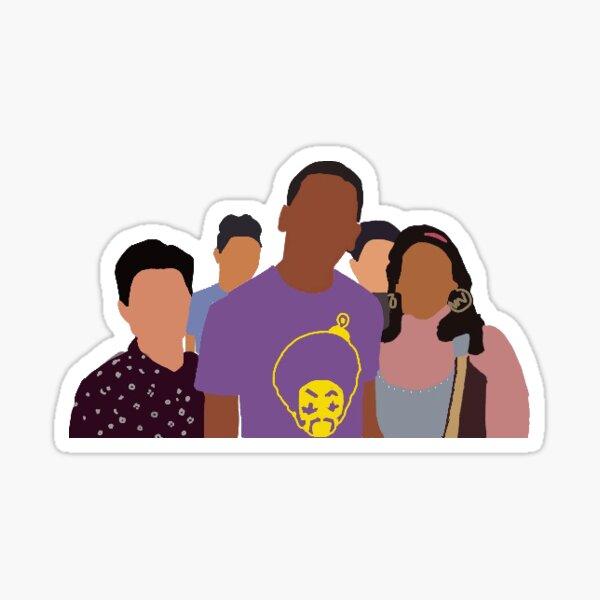 Sur mon bloc Sticker