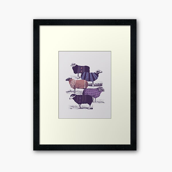 Cool Sweaters Framed Art Print