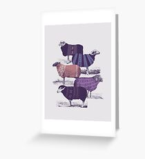 Cool Sweaters Greeting Card