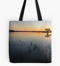 Dawn on the Cooper Creek, Outback South Australia Tote Bag