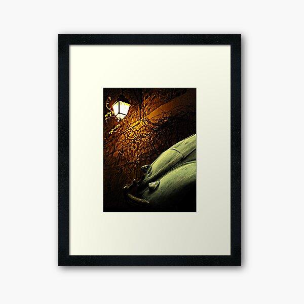 Lantern Light Framed Art Print