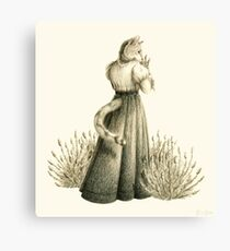Victorian Cat Series 04 Canvas Print