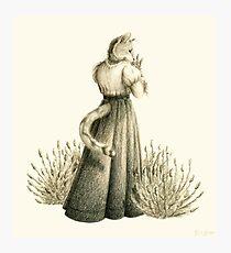 Victorian Cat Series 04 Photographic Print