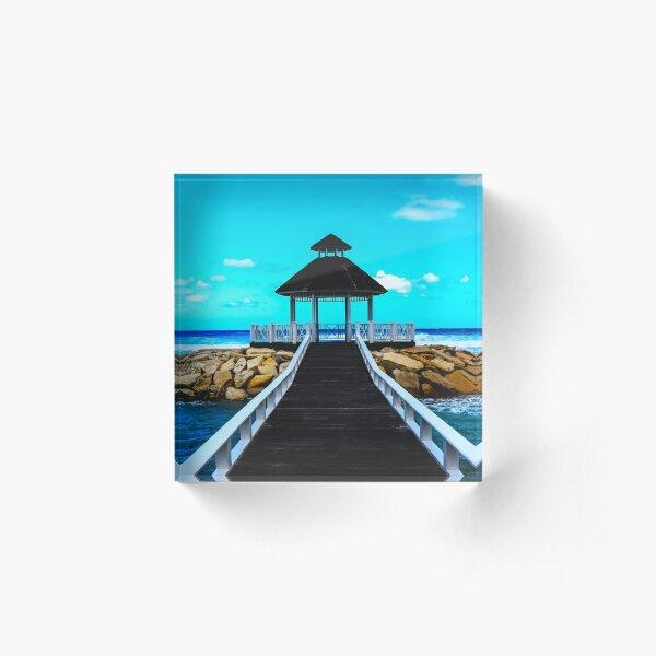 Paradise Acrylic Block