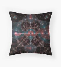 Curls Of Light Throw Pillow