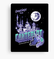 Greetings from Canterlot Canvas Print