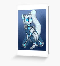 Come Hither Greeting Card
