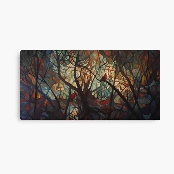Sunrise at Cardinal Creek Canvas Print
