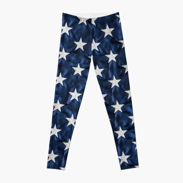 American Patriot Style Wear USA Flag T shirt Leggings