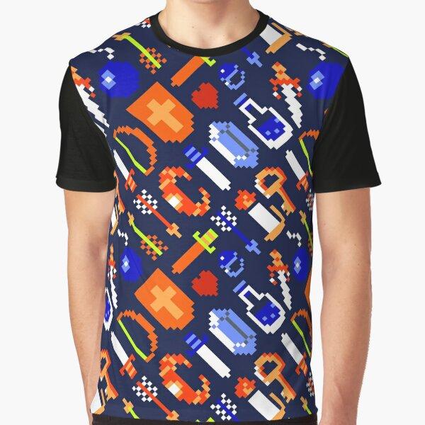 The Legend of Z video game nostalgia   DBL17R-TLOZ Graphic T-Shirt