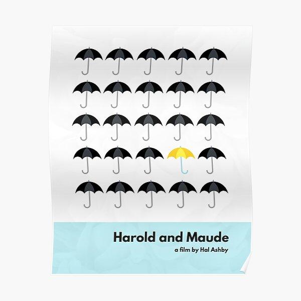 Harold and Maude Minimalist Art Poster