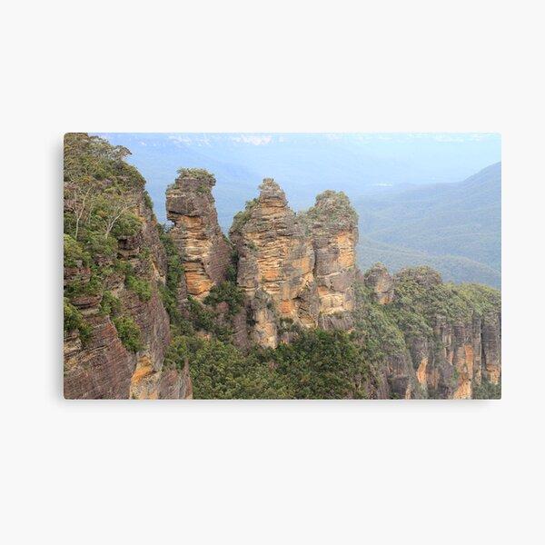 Three Sisters Blue Mountains Metal Print