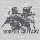 Modern Military digital camo  by Shobrick