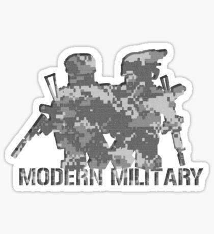 Modern Military digital camo  Sticker