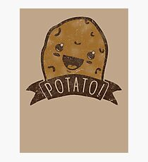 POTATO!!! Photographic Print