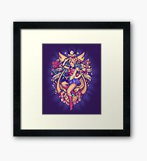 In the Name of the Moon Framed Print