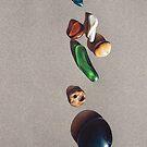 Beach stones iPhone case by Elena Kolotusha