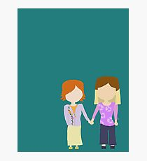 You're My Always - Willow & Tara Stylized Print Photographic Print