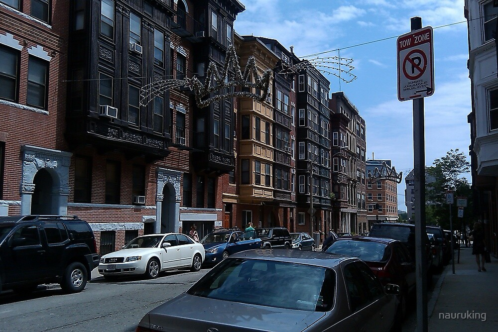 A Boston Neighborhood by nauruking