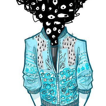 FASHION MONSTERS - ScribbleHead by twistylemons