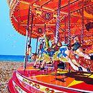 Seaside Carousel by Paula Oakley