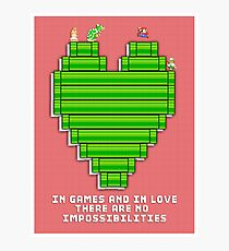 In Games and in Love Photographic Print