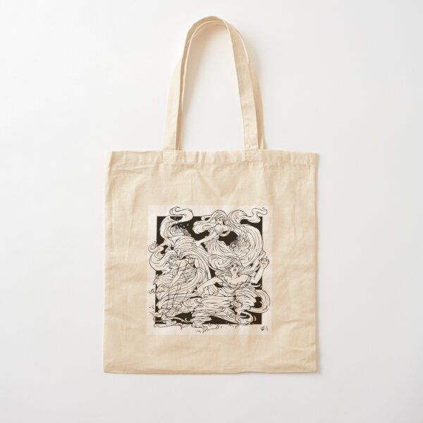 Twister Sisters Cotton Tote Bag