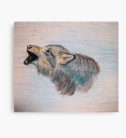 Howlin' Wolf Canvas Print