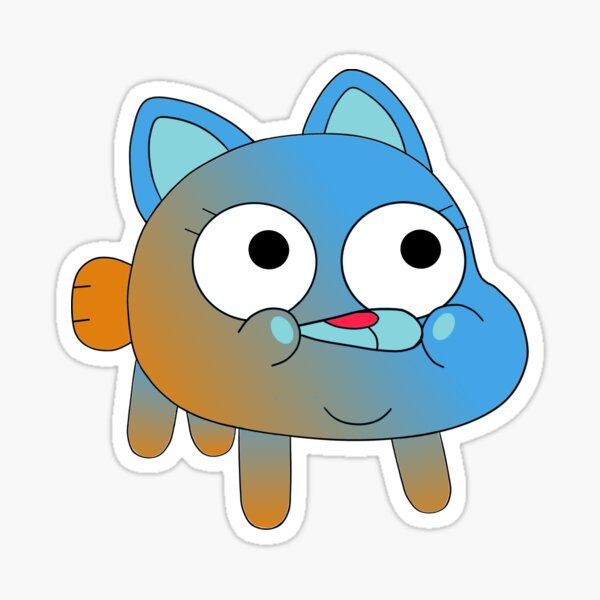 Gumball and Darwin Watterson Fusion Sticker