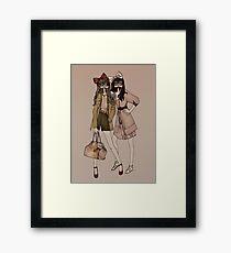 Lola & MIlu Framed Print