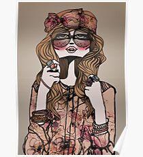 Hippie Chic Poster