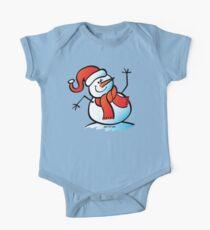 Snowman Waving Hello Kids Clothes