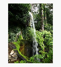Waterfall in Compton Acres Photographic Print