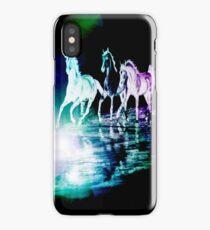 HAPPY HORSES!!!!!!!! iPhone Case