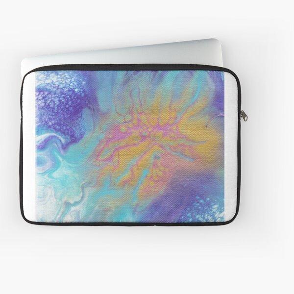 Metallic Bloom Laptop Sleeve