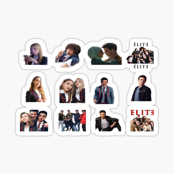 elite netflix Sticker