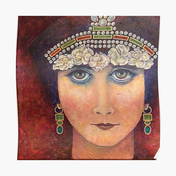 Theda/Theodora by Phyllis Moser Poster