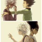HxH - Dark x Light by banafria