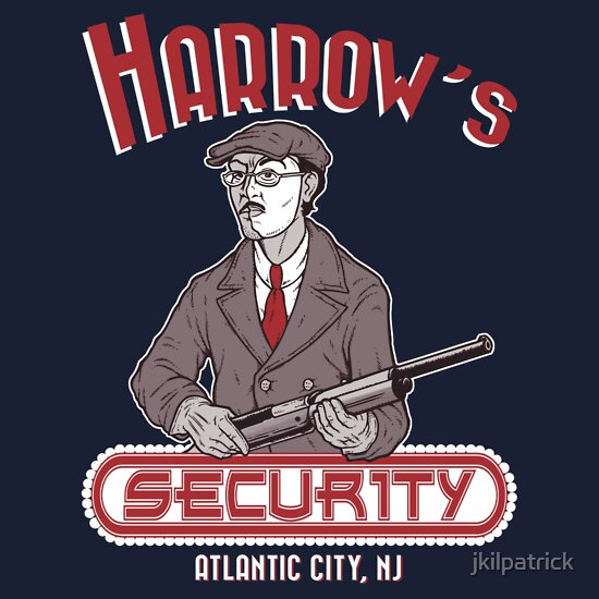 TShirtGifter presents: Harrow's Security