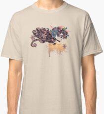 Sugar Skull Girl in Flower Crown 3 Classic T-Shirt