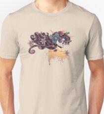 Sugar Skull Girl in Flower Crown 3 Unisex T-Shirt