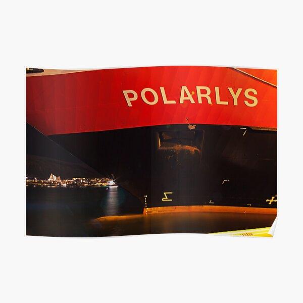 Hurtigruten Polarlys Poster