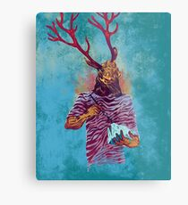 Native Metal Print