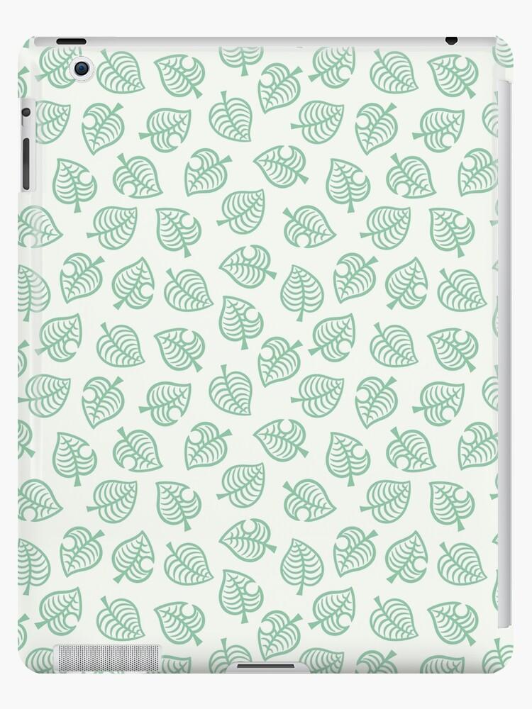 Animal Crossing New Horizons Leaf Pattern Ipad Case Skin By