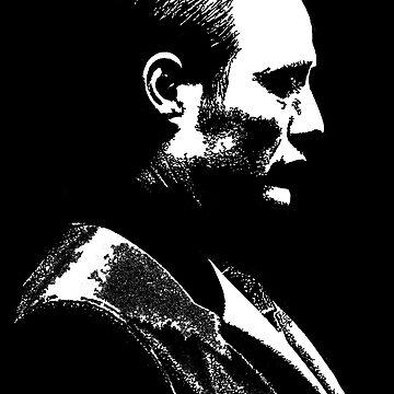 Hannibal Lecter (Mads Mikkelsen) (TV Series) by javics