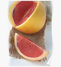 Ruby grapefruit Poster
