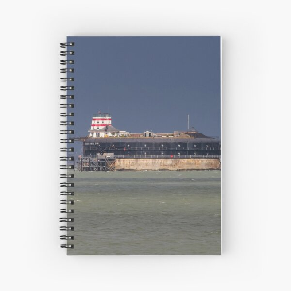 No Man's Land Fort The Solent Hampshire Spiral Notebook